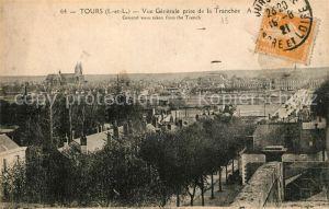 AK / Ansichtskarte Tours_Indre et Loire Panorama Tranchee Tours Indre et Loire