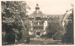 AK / Ansichtskarte Bad_Altheide Kurhaus Grafschaft Glatz Bad_Altheide