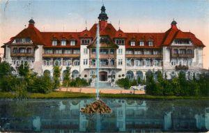 AK / Ansichtskarte Bad_Altheide Neues Kurhaus Grafschaft Glatz Bad_Altheide