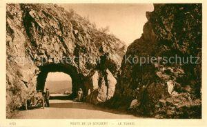 AK / Ansichtskarte La_Schlucht Route de La Schlucht Le Tunnel dans les Vosges La_Schlucht