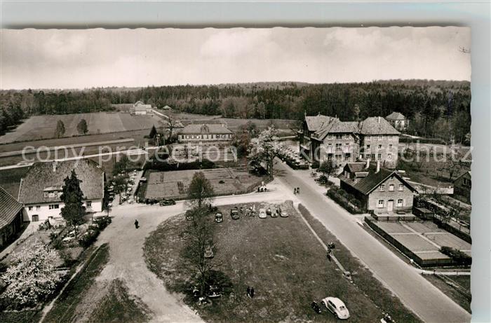 AK / Ansichtskarte Trippstadt Waldkurhaus Johanniskreuz Fliegeraufnahme Trippstadt
