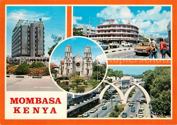 AK / Ansichtskarte Mombasa Town Centre Mombasa