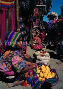 AK / Ansichtskarte Guatemala Mercado Chichicastenango Guatemala