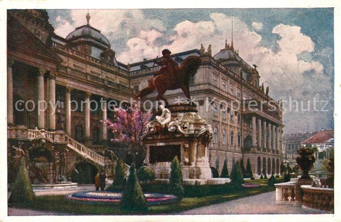 AK / Ansichtskarte Budapest Eugen Denkmal Budapest