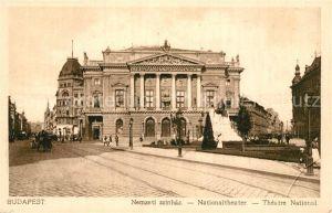AK / Ansichtskarte Budapest Nationaltheater Budapest