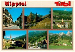 AK / Ansichtskarte Woergl_Tirol Ortsansichten Kirche Landschaftspanorama Wipptal Alpen Woergl Tirol