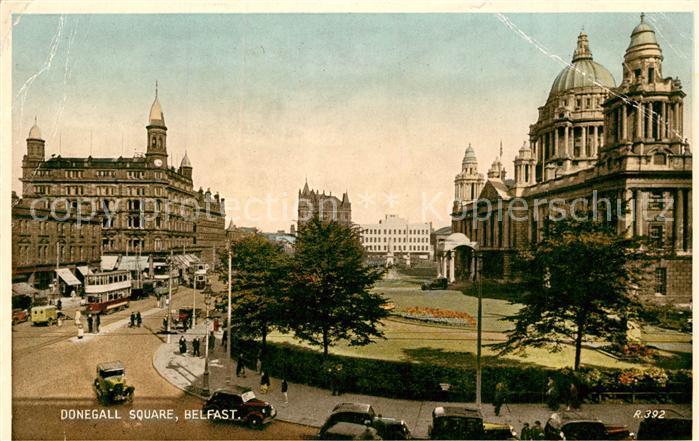 AK / Ansichtskarte Belfast Donegall Square Belfast