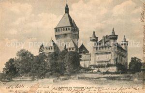 AK / Ansichtskarte Vufflens le Chateau Chateau Vufflens le Chateau