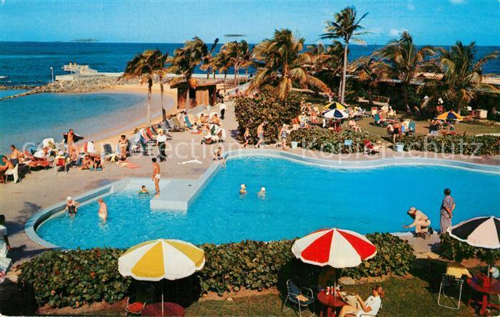 AK / Ansichtskarte San_Juan_Puerto_Rico Caribe Hilton Hotel San_Juan_Puerto_Rico