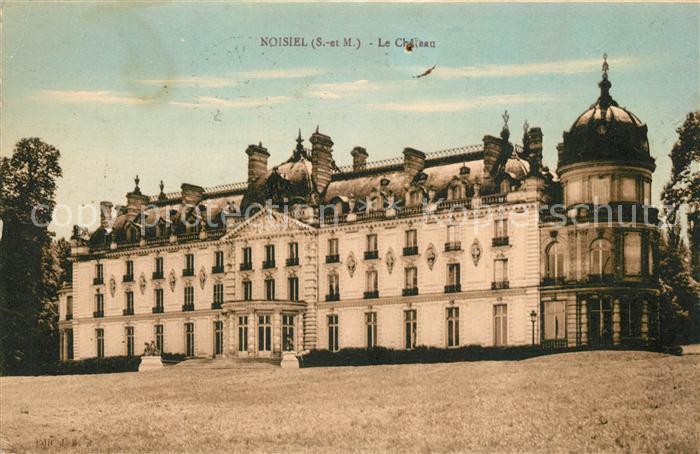 AK / Ansichtskarte Noisiel Schloss Noisiel