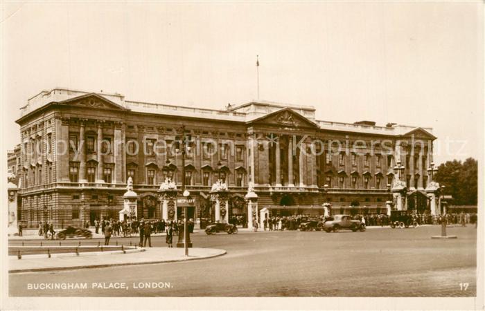 AK / Ansichtskarte London Buckingham Palace London