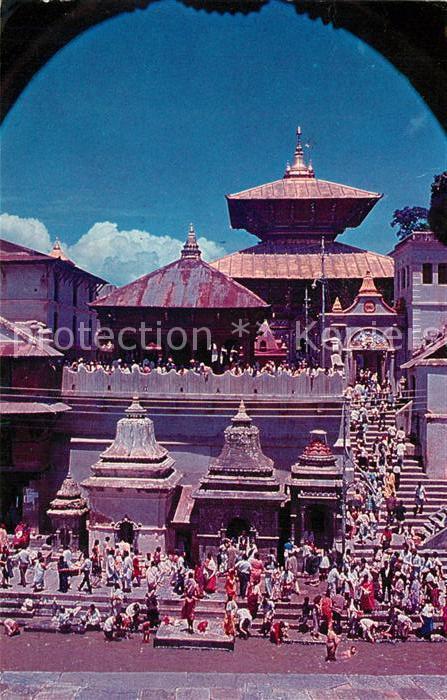 AK / Ansichtskarte Kathmandu Pashupatinath Temple Kathmandu