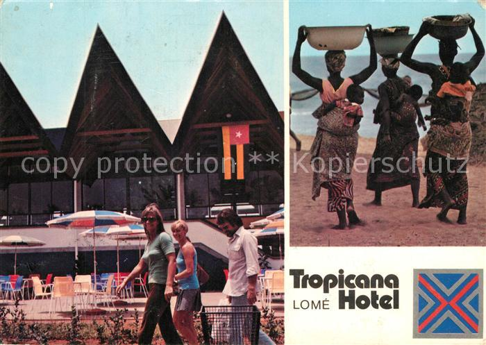 AK / Ansichtskarte Lome Tropicana Hotel Lome