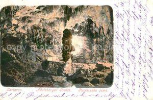 AK / Ansichtskarte Hoehlen_Caves_Grottes Tartarus Adelsberger Grotte Postojnska Jama Hoehlen_Caves_Grottes