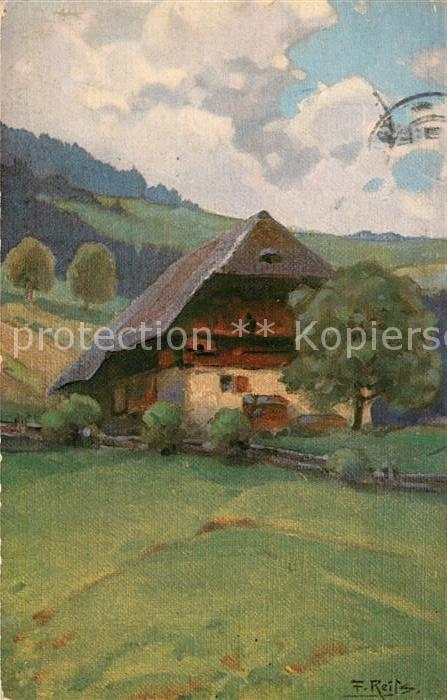 AK / Ansichtskarte Reiss_Fritz Sommer im Schwarzwald  Reiss Fritz