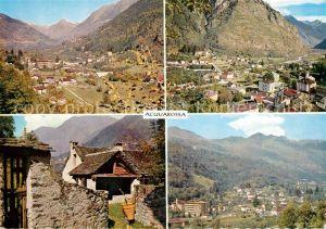 AK / Ansichtskarte Acquarossa Valle Blenio Panoramen Acquarossa