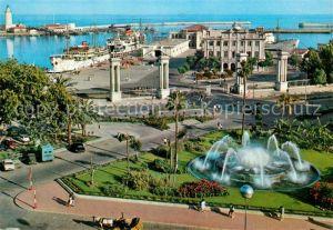 AK / Ansichtskarte Malaga Plaza Queipo de Liano  Malaga