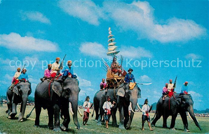 AK / Ansichtskarte Elefant Ancient Battle Elephants Surin Thailand  Elefant