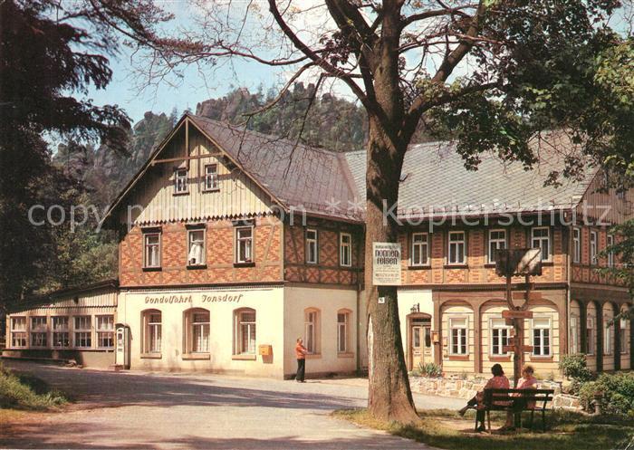 AK / Ansichtskarte Jonsdorf HO Gaststaette Gondelhof Jonsdorf