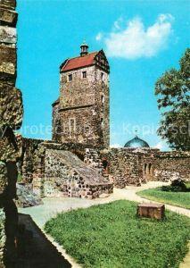AK / Ansichtskarte Stolpen Burg Seigerturm Stolpen
