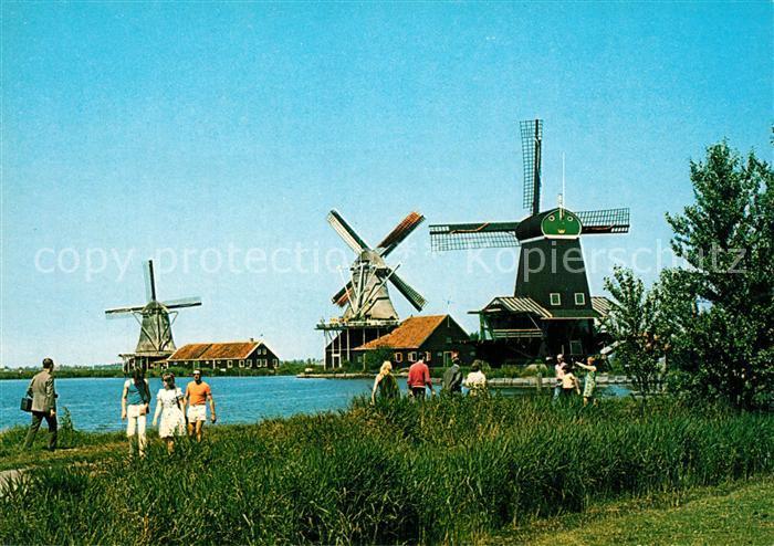 AK / Ansichtskarte Zaanstad Windmuehlen Zaanstad