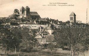 AK / Ansichtskarte Gourdon_Lot Le Lot Pittoresque Gourdon Lot