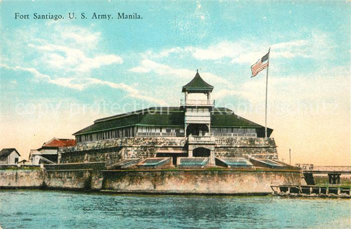 AK / Ansichtskarte Manila_Manila Fort Santiago US Army Manila_Manila