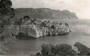 AK / Ansichtskarte Cassis Calanque de Port Miou Cap Cable les Falaises Soubeyranes et Cap Canaille Steilkueste Cassis