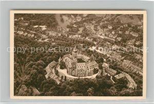 AK / Ansichtskarte Wernigerode_Harz Schloss Fliegeraufnahme Serie Das schoene Deutschland Bild 144 Reichswinterhilfe Lotterie Wernigerode Harz