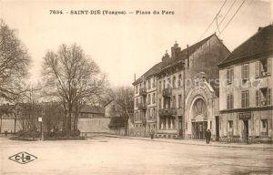 AK / Ansichtskarte Saint Die des Vosges Place du Parc Saint Die des Vosges