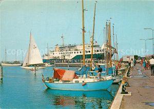 AK / Ansichtskarte Schiffe_Ships_Navires Langeland Bagenkop Havn  Schiffe_Ships_Navires