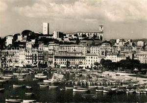 AK / Ansichtskarte Cannes_Alpes Maritimes Le Port et le Suquet Cannes Alpes Maritimes