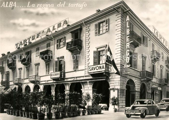 AK / Ansichtskarte Alba_Adriatica Piazza Savona Hotel Morra Alba Adriatica