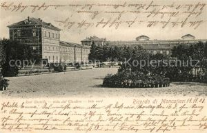 AK / Ansichtskarte Moncalieri Real Castello viste dal Giardino late nord Moncalieri