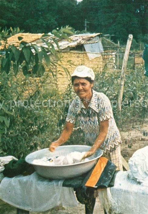 AK / Ansichtskarte Kolumbien Waescherin Jerusalen Kolumbien