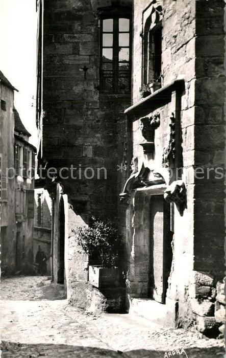 AK / Ansichtskarte Sarlat en Perigord Rue du Presidiat Sarlat en Perigord