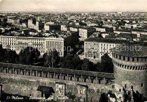 AK / Ansichtskarte Milano Panorama dal Castello Milano