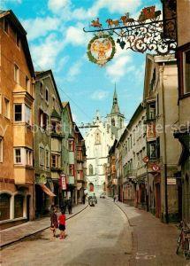 AK / Ansichtskarte Schwaz_Tirol Franz Josef Strasse Schwaz Tirol