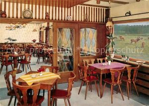 AK / Ansichtskarte Oberhundem Waldhaus Hirschgehege Restaurant Oberhundem