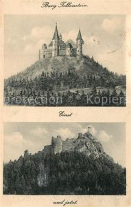 AK / Ansichtskarte Tollenstein_Tolstejn  Einst und Jetzt
