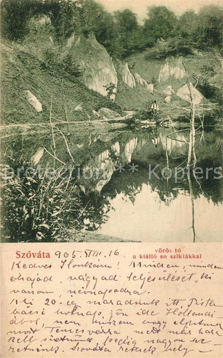 AK / Ansichtskarte Szovata Voeroes to a kiallo so sziklakkal