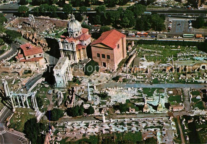 AK / Ansichtskarte Roma_Rom Veduta aerea del Foro Romano Roemischer Gerichtshof Roma_Rom