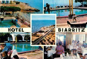 AK / Ansichtskarte Alcanar Hotel Biarritz Restaurant Swimming Pool Alcanar