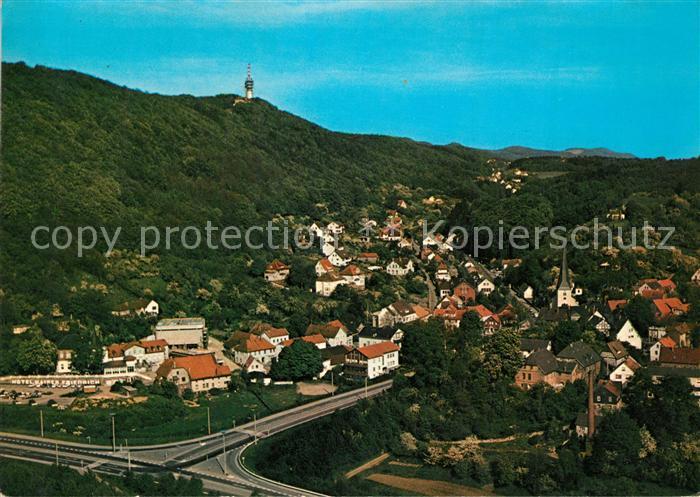 AK / Ansichtskarte Porta_Westfalica Hausberge Fernsehturm Porta_Westfalica