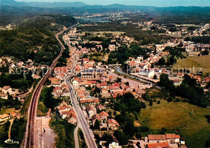AK / Ansichtskarte Ronchamp_Haute_Saone Vue panoramique aerienne Ronchamp_Haute_Saone