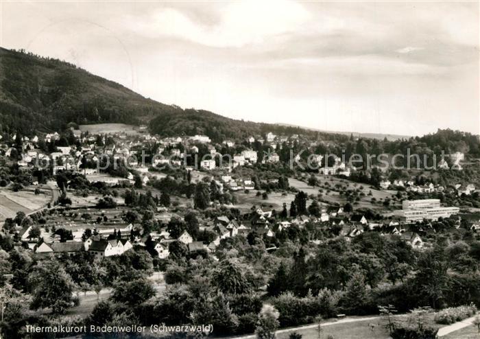 AK / Ansichtskarte Badenweiler Panorama Badenweiler