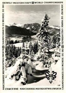 AK / Ansichtskarte Zakopane Winterpanorama Zakopane