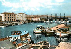 AK / Ansichtskarte Port la Nouvelle Le Barrage Le Port Port la Nouvelle