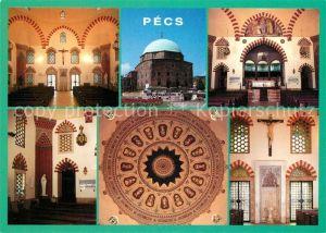 AK / Ansichtskarte Pecs Pfarrkirche Moschee Pascha Gazi Khazim Pecs