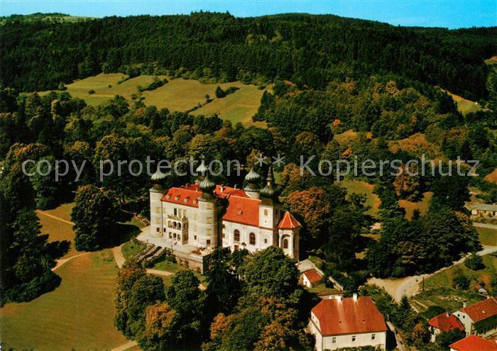 AK / Ansichtskarte Artstetten Poebring Fliegeraufnahme Schloss  Artstetten Poebring